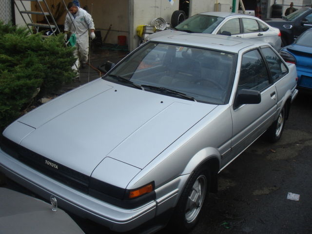 1985 toyota corolla sport gt s gts coupe 2 door 1 6l ae86. Black Bedroom Furniture Sets. Home Design Ideas