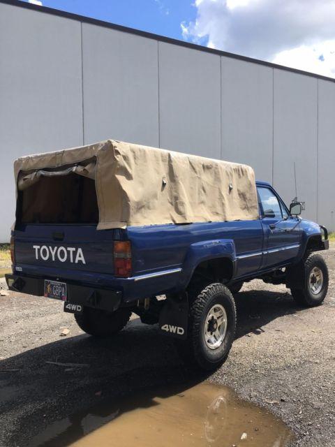 Toyota Dealership Portland Oregon >> 1985 Toyota LN65 Hilux Turbo Diesel 4x4 Truck Long Bed