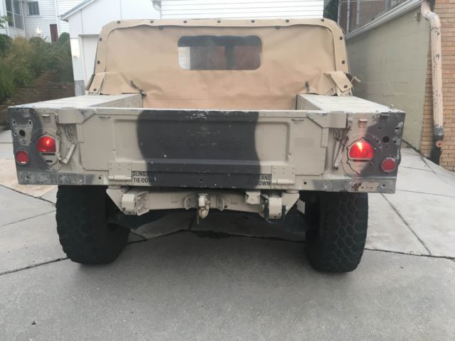 Am General Humvee M Military Desert Tan W Winch M Hummer H Clear on Military Humvee Batteries