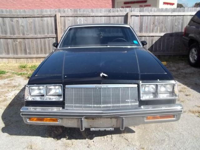 1986 Buick Regal Limited 2door V8 Runs And Drives Needs Ez