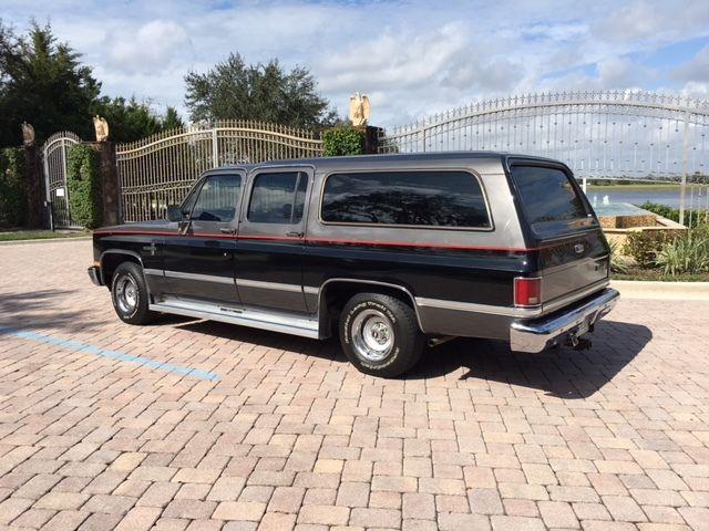 1986 chevrolet c10 suburban custom sport utility 4 door 5 7l for 10 door suburban