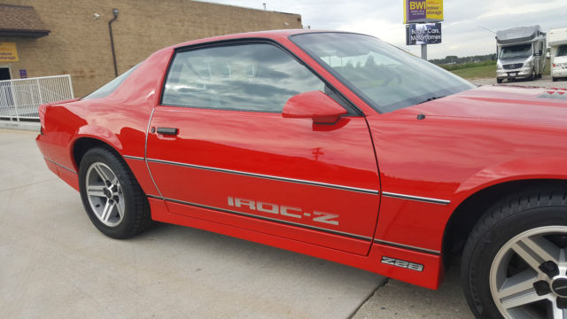 1986 Chevrolet Camaro Iroc Z28 Beautiful Original Car Only