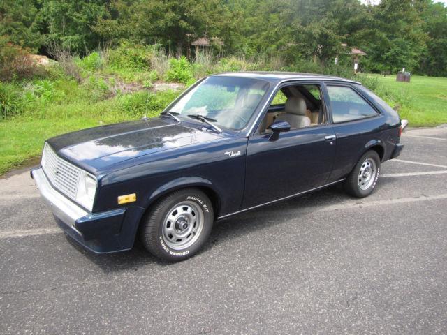 1986 Chevy Chevette 2 Door Hatchback