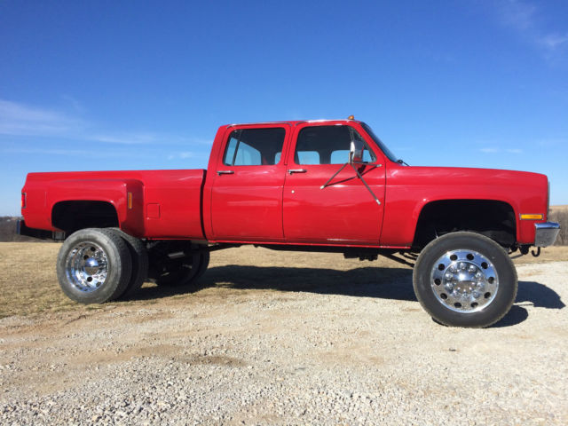 1986 chevy k30 crew cab dually lifted. Black Bedroom Furniture Sets. Home Design Ideas