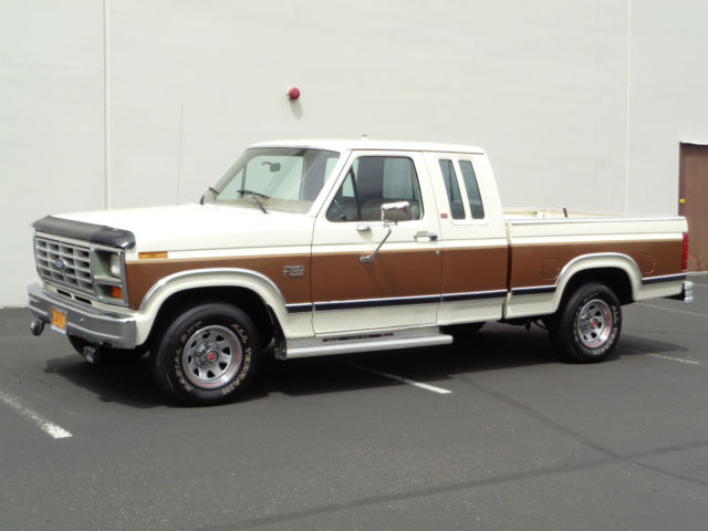 1986 Ford F150 Lariat 2wd Extremely Low Miles  1985 1984