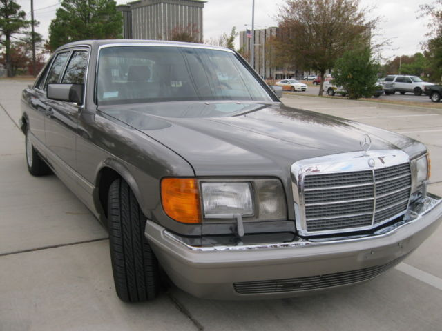 1986 mercedes 300 sdl excellent inside and out repair for Mercedes benz okc service