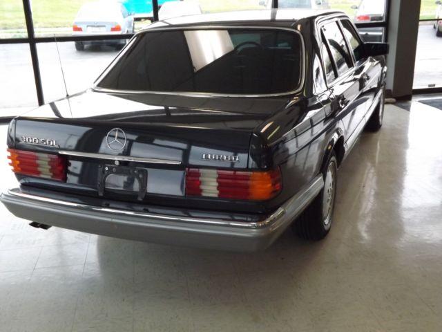 1986 mercedes 300sdl turbo diesel for Mercedes benz turbo diesel