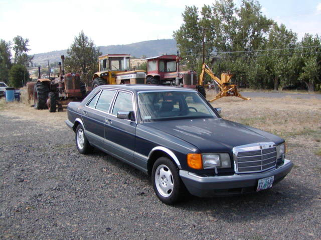 1986 mercedes benz 420 sel nice driving car for Nice mercedes benz cars