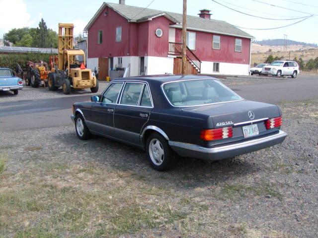 1986 mercedes benz 420 sel nice driving car for 1986 mercedes benz 420 sel