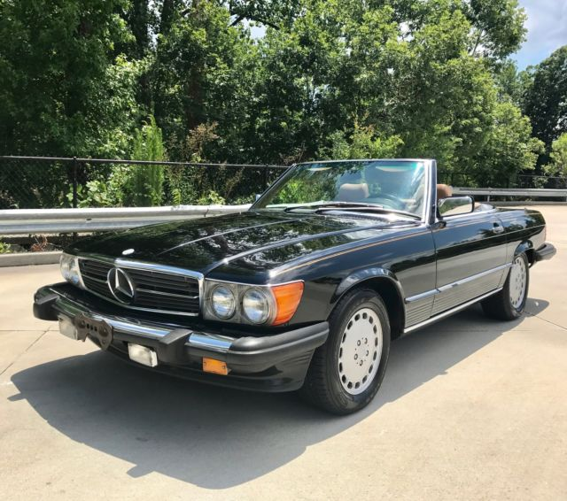 1986 mercedes benz 560sl roadster beautiful condition for Mercedes benz raleigh north carolina
