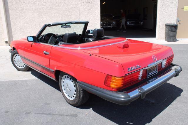 1986 mercedes benz 560sl roadster in las vegas just for Mercedes benz for sale las vegas