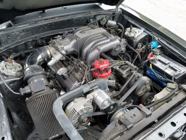 1986 mustang notchback original 5 0 5 speed sportsman for Ford stroker motor sizes