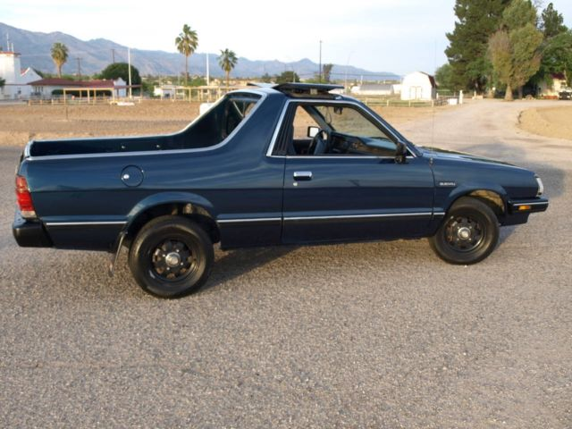 1986 subaru brat runs well excellent body paint and. Black Bedroom Furniture Sets. Home Design Ideas