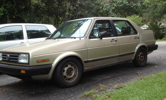 1986 Volkswagen Jetta Base Sedan 4-Door 1.6L