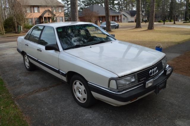 1987 Audi 5000 CS turbo quattro