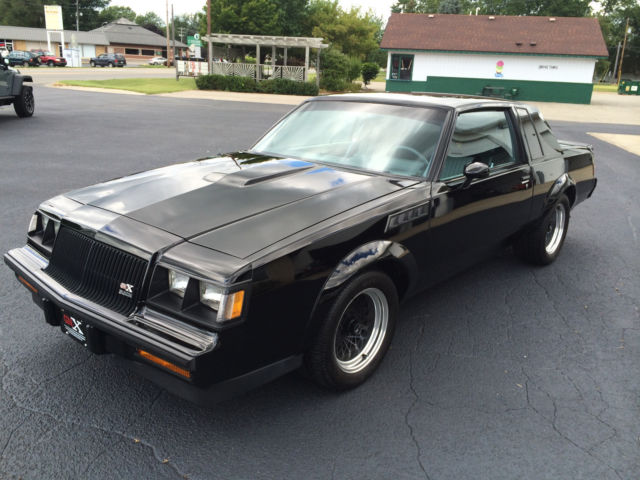 1987 buick gnx grand national original miles unrestored classic regal. Black Bedroom Furniture Sets. Home Design Ideas