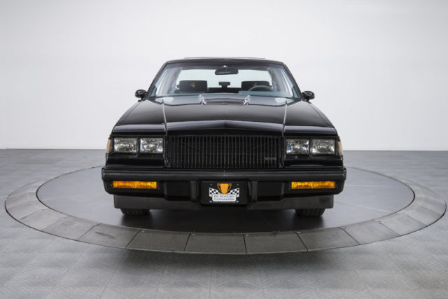 1987 Buick Grand National 1629 Miles Black Coupe 38 V6 Autos Post