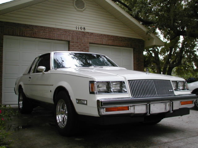 1987 Buick Regal T Type Limited Turbo