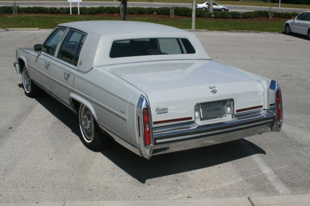 1987 Cadillac Brougham 28362 Miles Estate Car 88 89 90 91