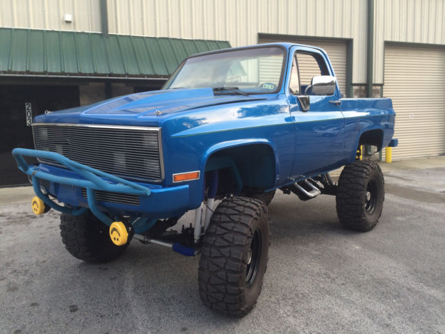 1987 chevrolet blazer k5 lifted
