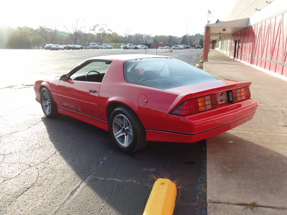 1987 chevrolet camaro very solid iroc z new paint sweet for Interior 86 camaro