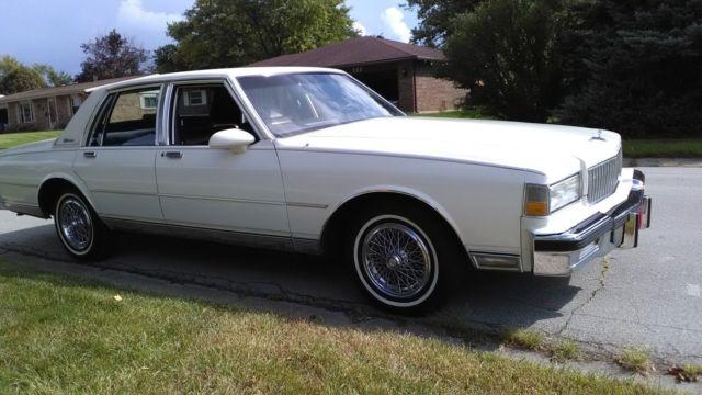 1987 Chevrolet Caprice Classic Brougham Low Miles