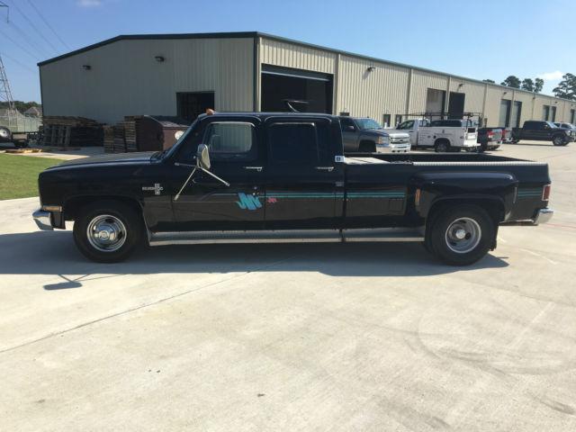 1987 chevrolet r30 silverado crew cab pickup 4 door 7 4l c10 c30 camaro ss k5 ck. Black Bedroom Furniture Sets. Home Design Ideas