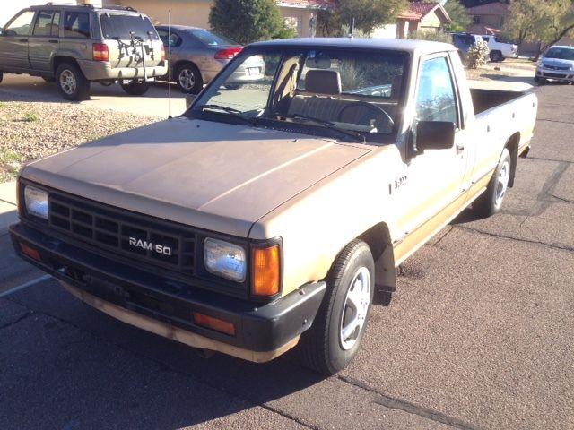 1987 Dodge D50 Pickup