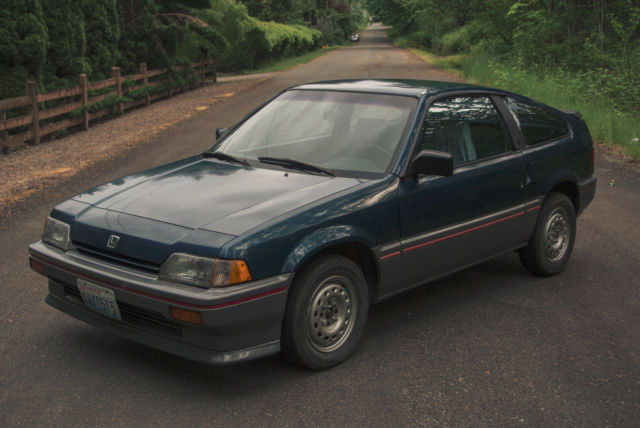 1987 honda civic crx hf no rust newly rebuilt engine. Black Bedroom Furniture Sets. Home Design Ideas