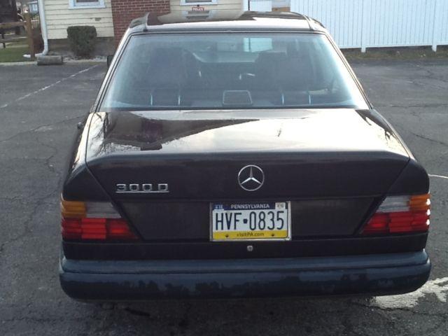 1987 mercedes 300d turbo diesel 4 door sedan 124d for Mercedes benz turbo diesel