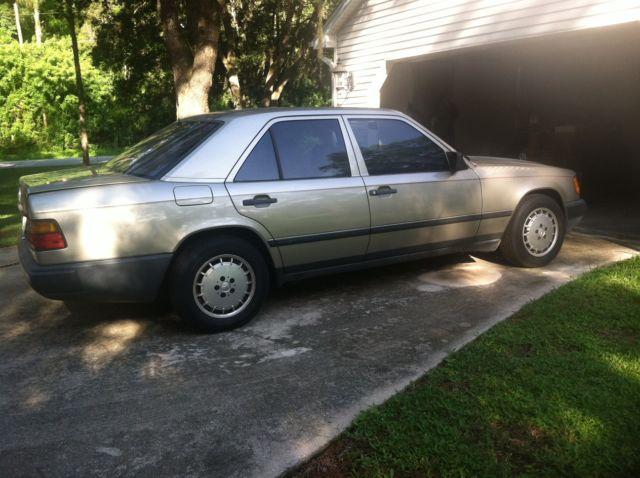 1987 mercedes benz 300e 4 door 3 0l for 1987 mercedes benz 300e