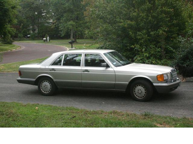 1987 mercedes benz 300sdl base sedan 4 door 3 0l for Mercedes benz 300sdl for sale