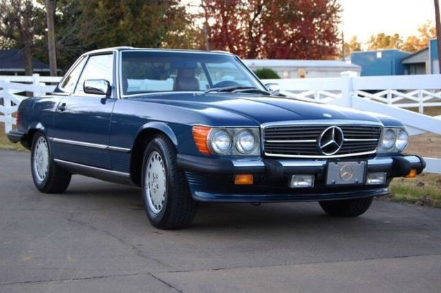 1987 mercedes benz 560 sl convertable for Mercedes benz 560 sl