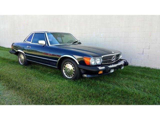 1987 mercedes benz sl class 560 class 560sl 83245 miles for Mercedes benz sl 560