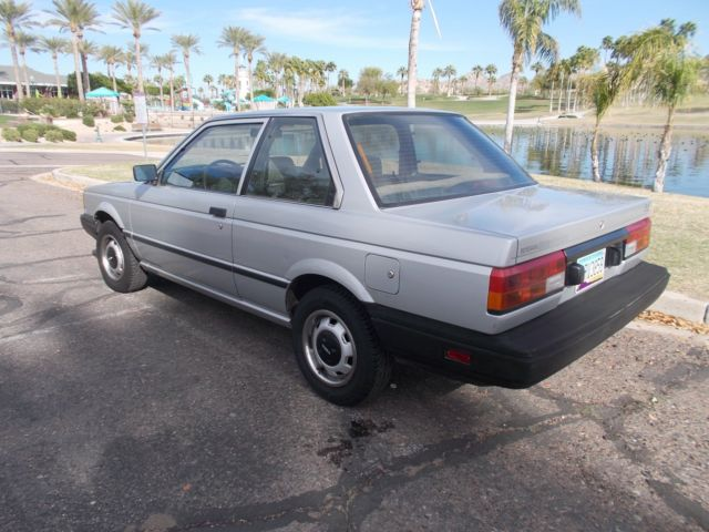1987 nissan sentra 2 door coupe 47k original miles one