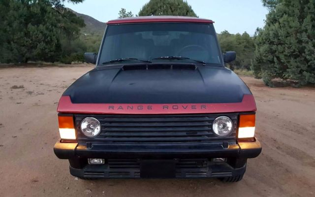1987 Range Rover Classic NAS - Custom Candy Apple Red, Rust