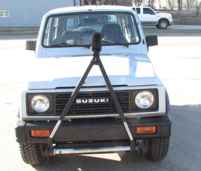 1987 Suzuki Samurai 4x4 Tin Top Model Suv On And Off Road