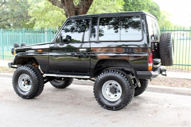 1987 toyota land cruiser lj 70 lifted 4cyl turbo diesel rust free. Black Bedroom Furniture Sets. Home Design Ideas