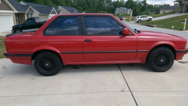 1988 Bmw 325is E30 Red Low Miles 5 Speed Manual