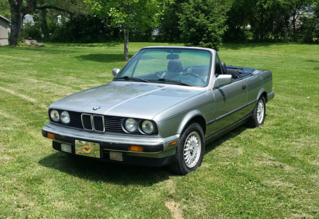 1988 bmw e30 325i convertible with factory hardtop and m20b25 engine. Black Bedroom Furniture Sets. Home Design Ideas