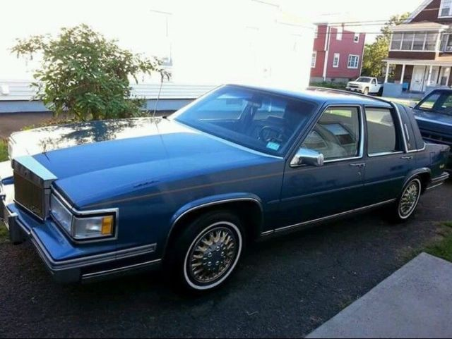 1988 cadillac deville. Cars Review. Best American Auto & Cars Review