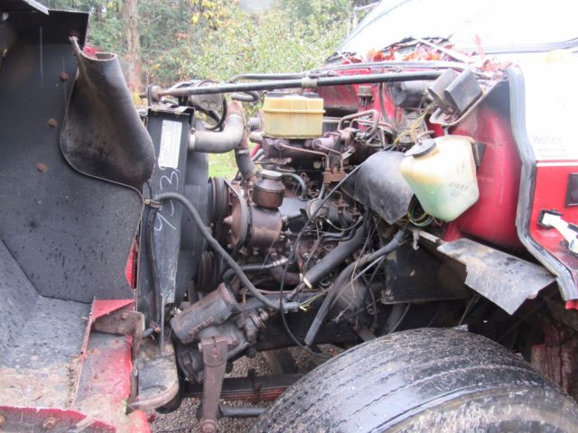 1988 CHEVY C70 C60 FLATBED DUMP TRUCK WITH NEW 366 ...