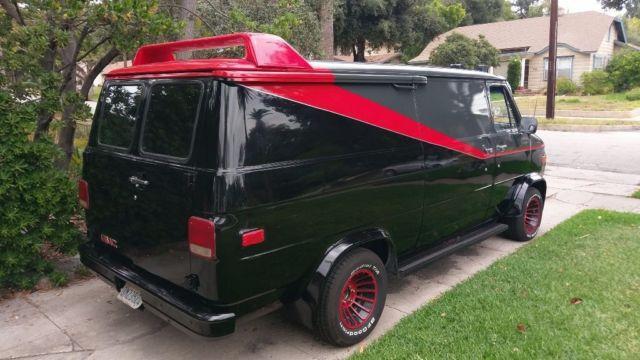 1988 Chevy G20/ A-Team Van