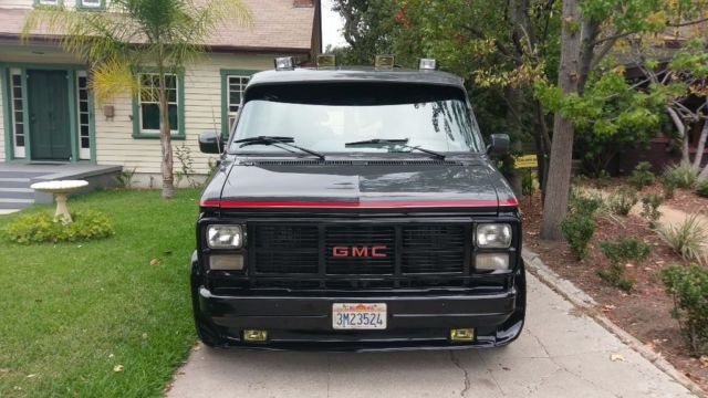 1988 chevy g20 a team van. Black Bedroom Furniture Sets. Home Design Ideas
