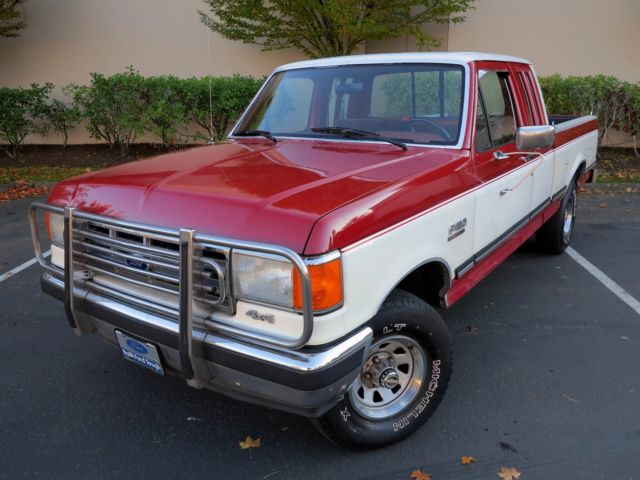 1988 ford f 150 xlt lariat clean supercab 4x4 ready to drive anywhere. Black Bedroom Furniture Sets. Home Design Ideas