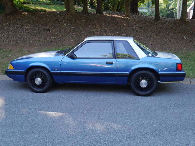 1988 Ford Mustang Coupe Ssp Gsp Trooper Police Foxbody
