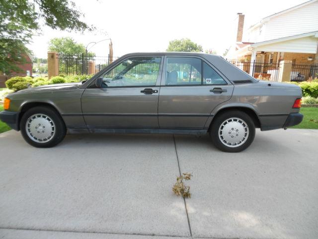 1988 mercedes 190e low miles no reserve for 1988 mercedes benz 190e