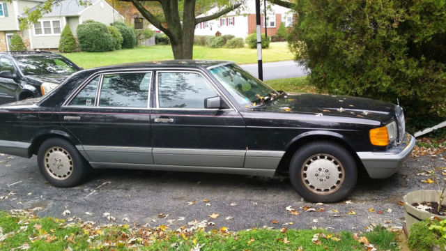 1988 mercedes benz 420sel base sedan 4 door 4 2l for 1988 mercedes benz 420sel for sale
