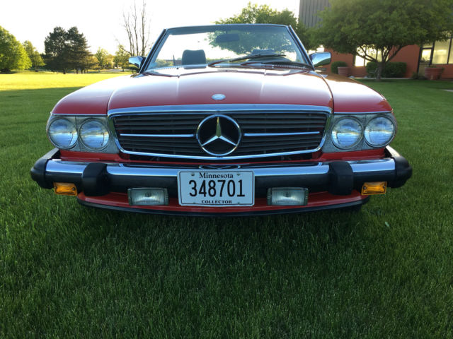 1988 mercedes benz 560sl blue chip investment grade for Mercedes benz performance chips