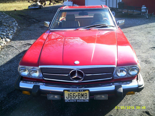 1988 mercedes benz sl class 2 door coupe convertible for Mercedes benz flemington nj